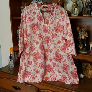 Blouse by Lands End sz 2X (20-22)